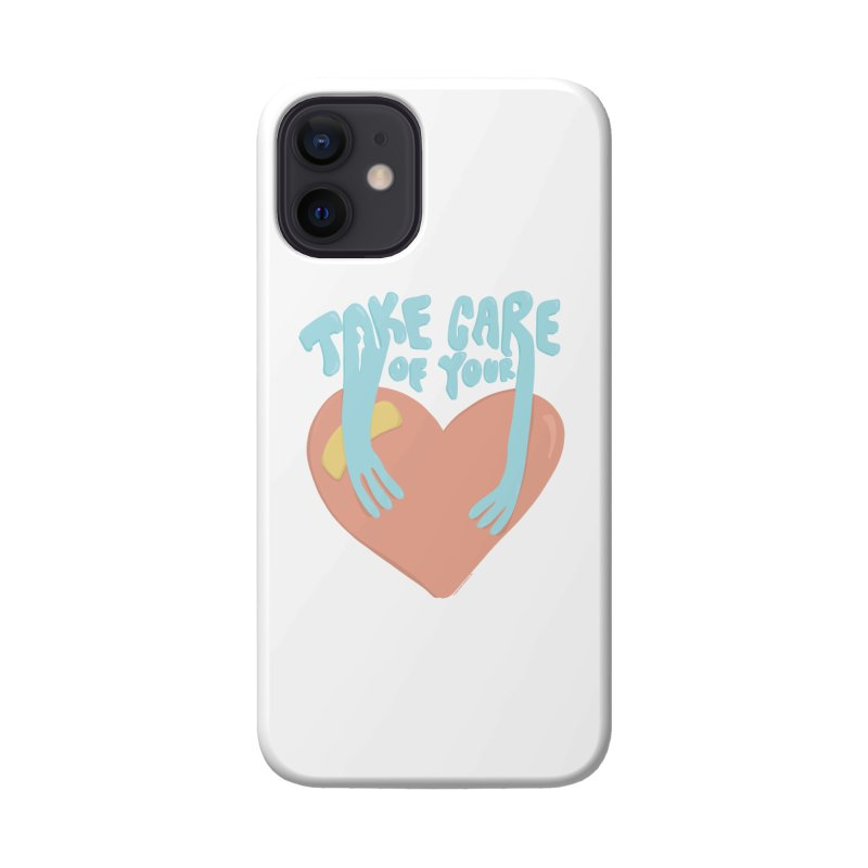 Take Care Of Your Heart© Accessories Phone Case by Depressed Monsters