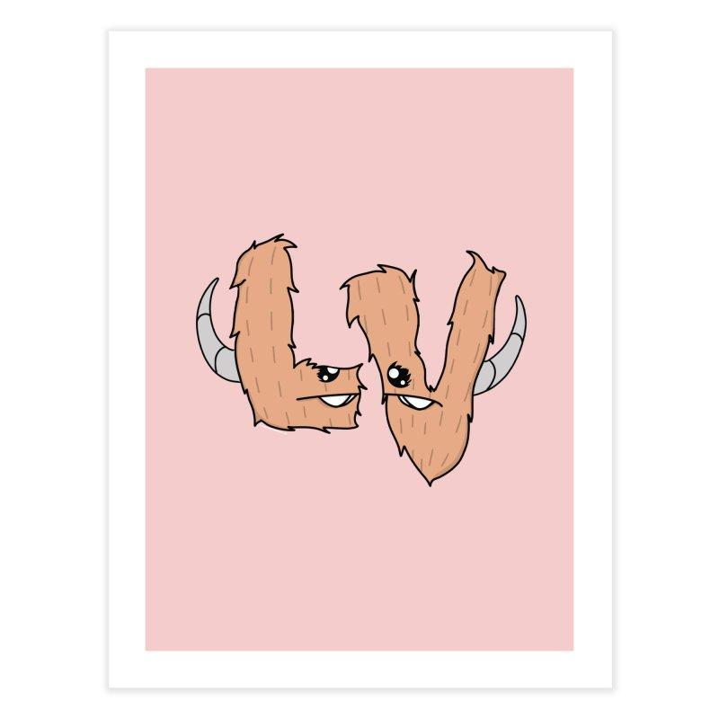Las Vegas Yermans Home Fine Art Print by Depressed Monsters