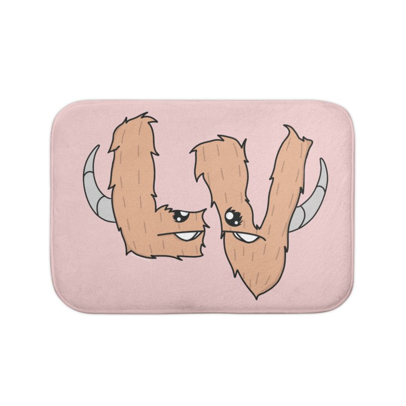 Las Vegas Yermans Home Bath Mat by Depressed Monsters