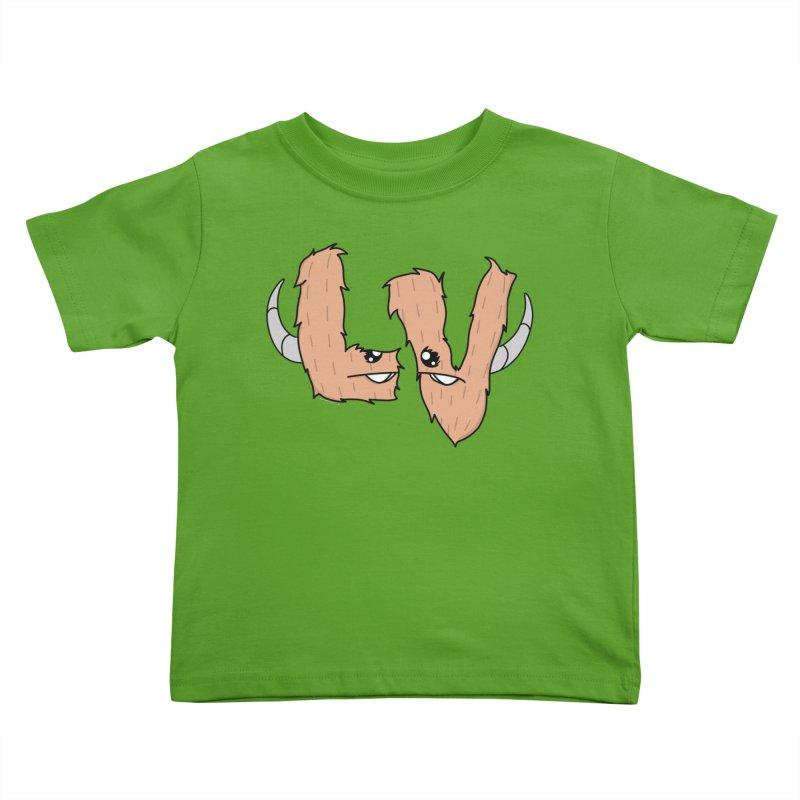 Las Vegas Yermans Kids Toddler T-Shirt by Depressed Monsters