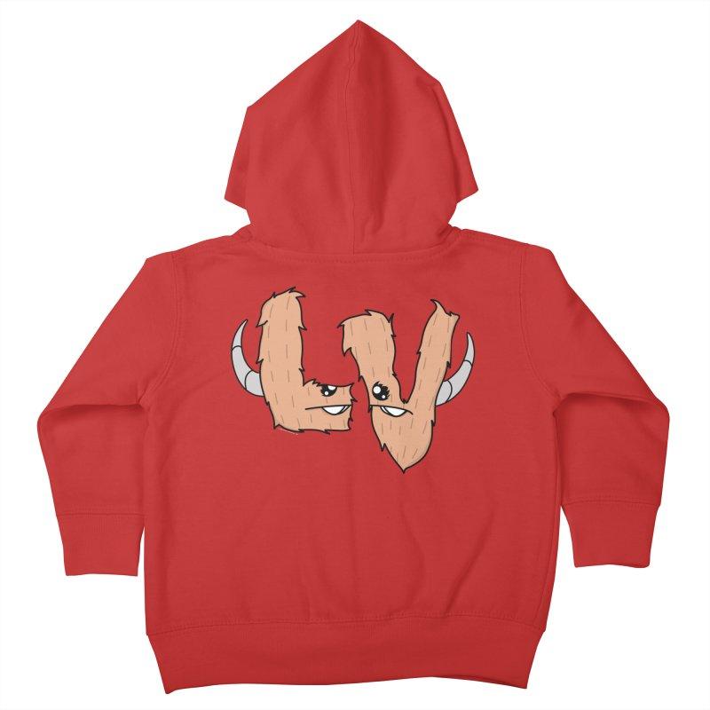 Las Vegas Yermans Kids Toddler Zip-Up Hoody by Depressed Monsters