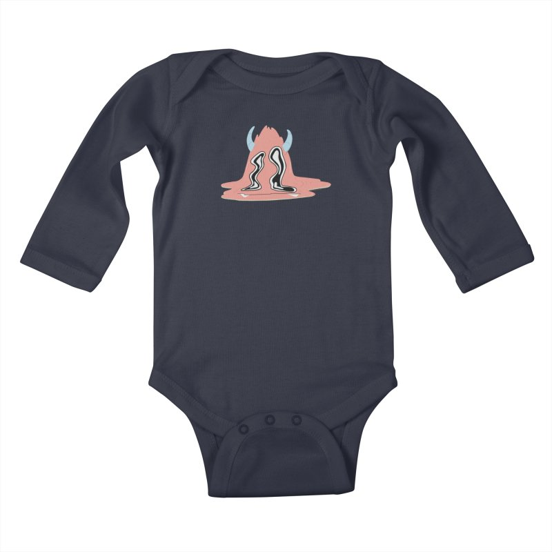 Melting Yerman© Kids Baby Longsleeve Bodysuit by Depressed Monsters