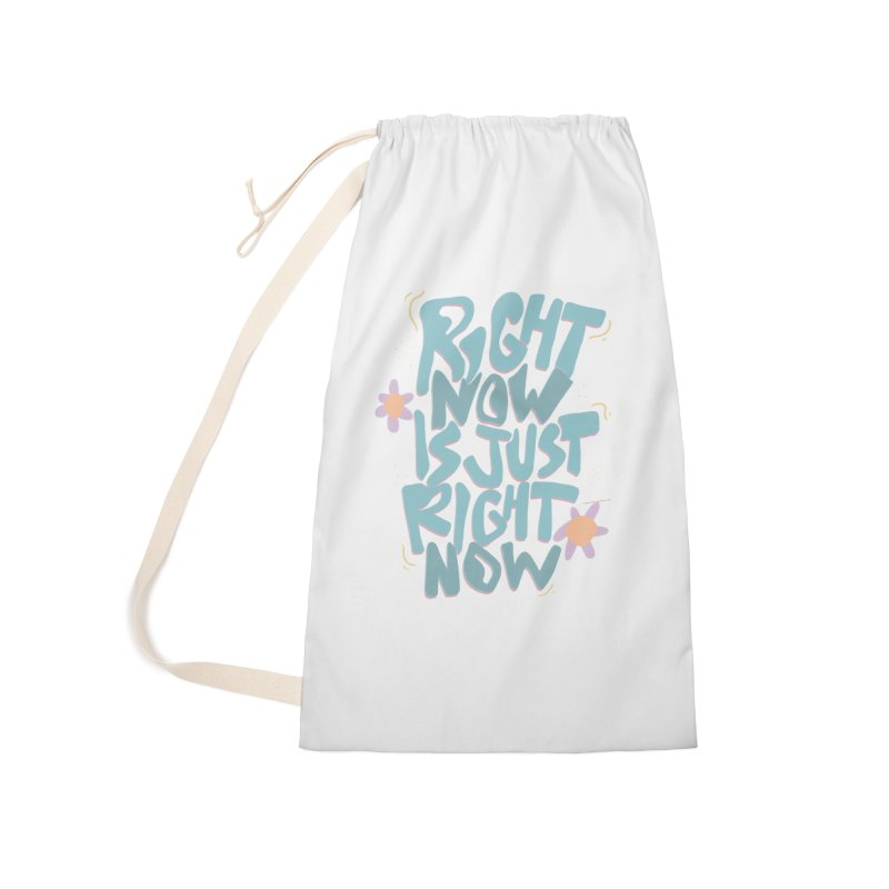 Right Now Is Just Right Now© Accessories Bag by Depressed Monsters