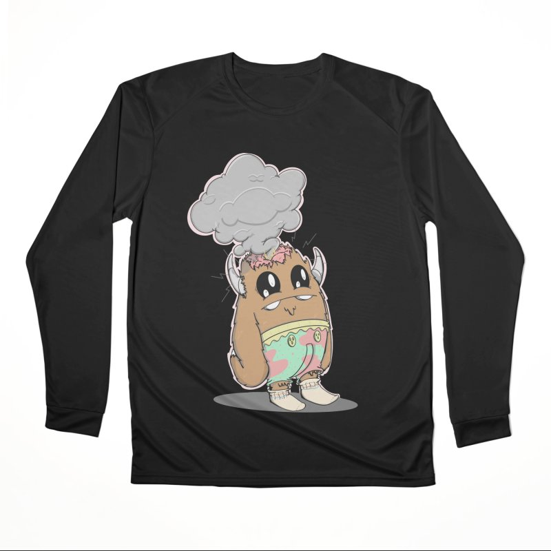 Brain Fried© Women's Longsleeve T-Shirt by Depressed Monsters