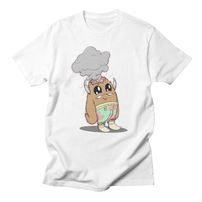Brain Fried© Men's T-Shirt by Depressed Monsters