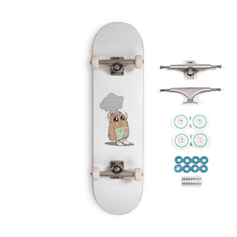 Brain Fried© Accessories Skateboard by Depressed Monsters