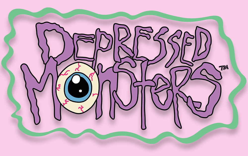 Logo for Depressed Monsters