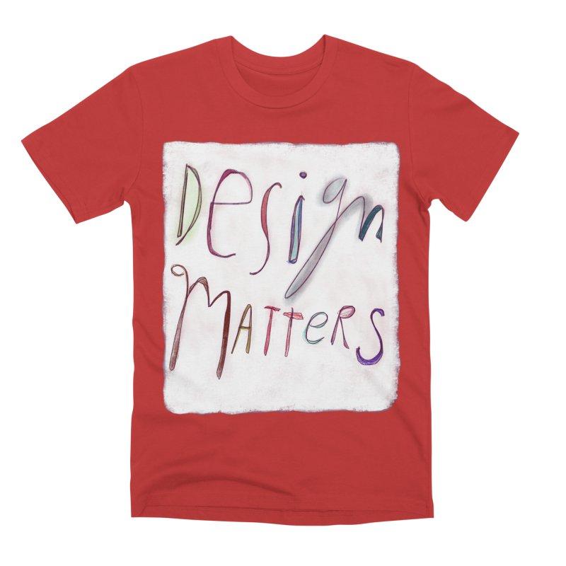 Artist Series 04: Debbie Millman Men's Premium T-Shirt by Design Museum of Chicago