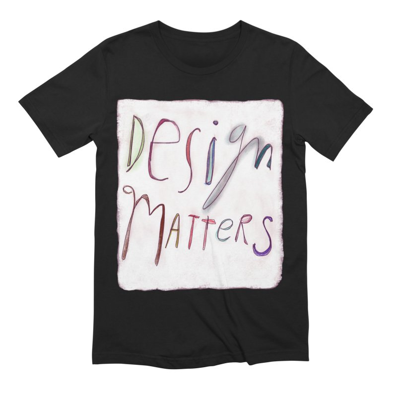 Artist Series 04: Debbie Millman Men's Extra Soft T-Shirt by Design Museum of Chicago