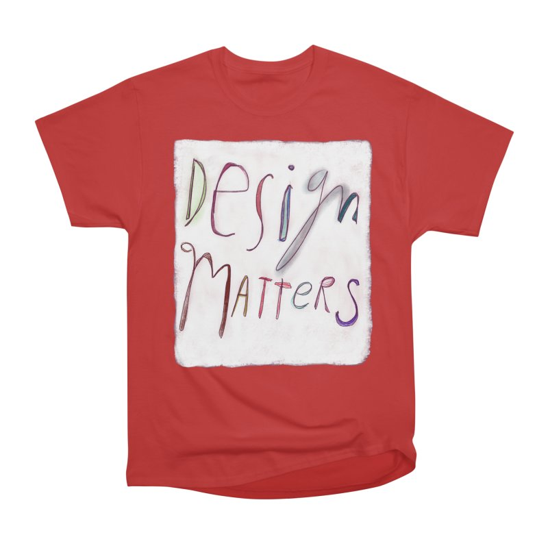 Artist Series 04: Debbie Millman Men's Heavyweight T-Shirt by Design Museum of Chicago