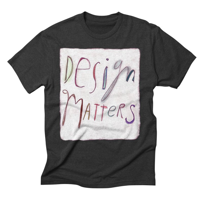 Artist Series 04: Debbie Millman Men's Triblend T-Shirt by Design Museum of Chicago