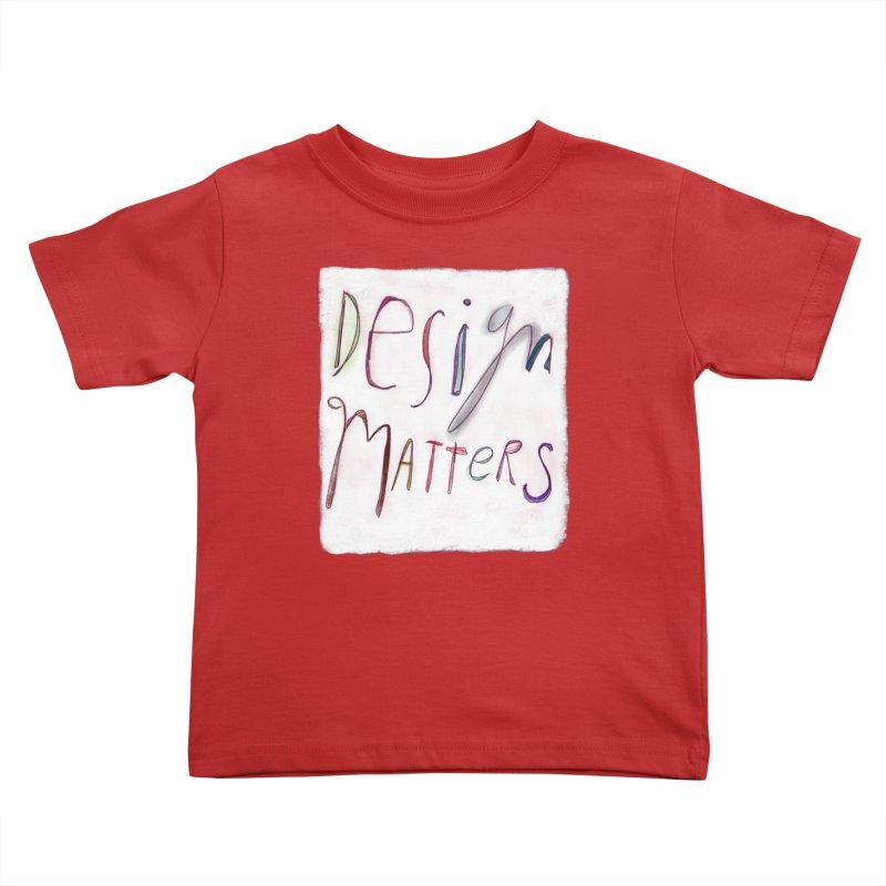 Artist Series 04: Debbie Millman Kids Toddler T-Shirt by Design Museum of Chicago