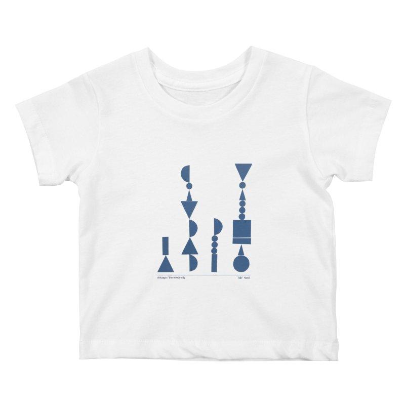 Artist Series 06.1: NosE la nariz Kids Baby T-Shirt by Design Museum of Chicago