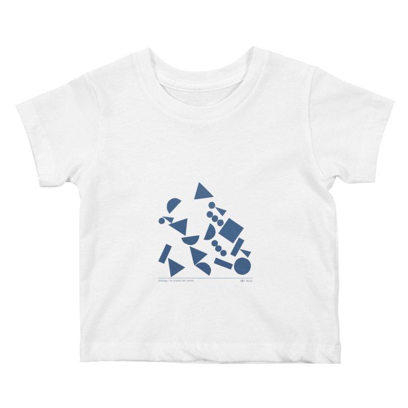 Artist Series 06.2: NosE la nariz Kids Baby T-Shirt by Design Museum of Chicago