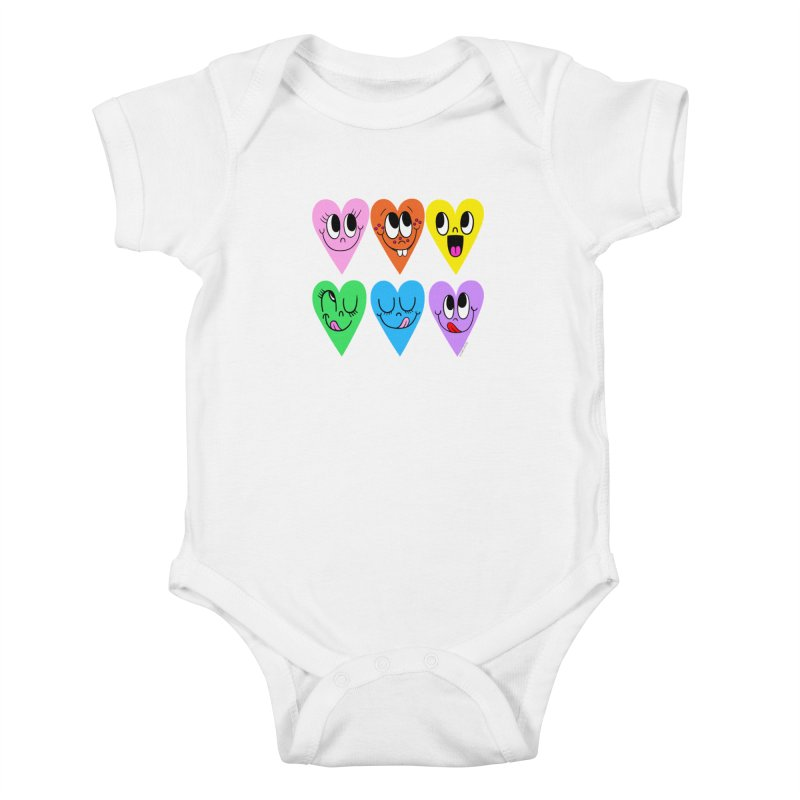 Artist Series 01: Chris Uphues Kids Baby Bodysuit by Design Museum of Chicago
