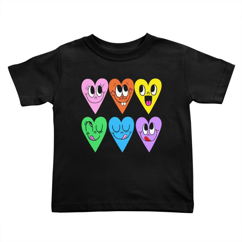 Artist Series 01: Chris Uphues Kids Toddler T-Shirt by Design Museum of Chicago
