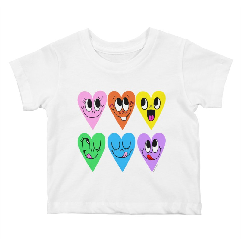 Artist Series 01: Chris Uphues Kids Baby T-Shirt by Design Museum of Chicago