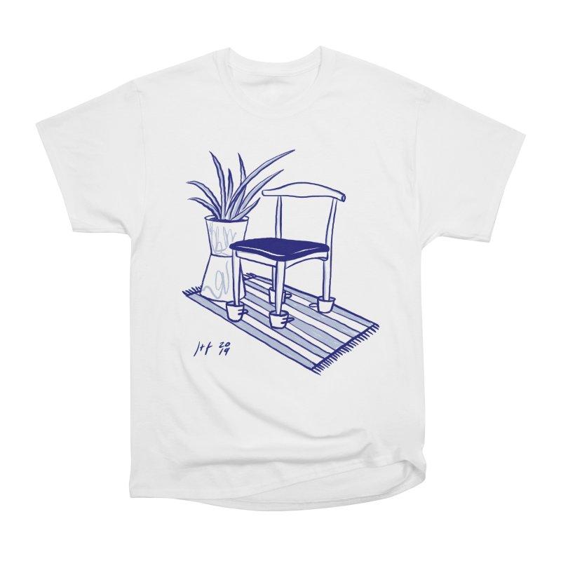 Artist Series 02: Jeremy+Farrah Women's Heavyweight Unisex T-Shirt by Design Museum of Chicago