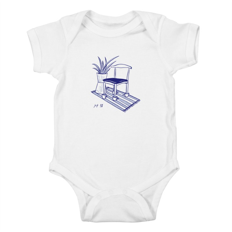 Artist Series 02: Jeremy+Farrah Kids Baby Bodysuit by Design Museum of Chicago