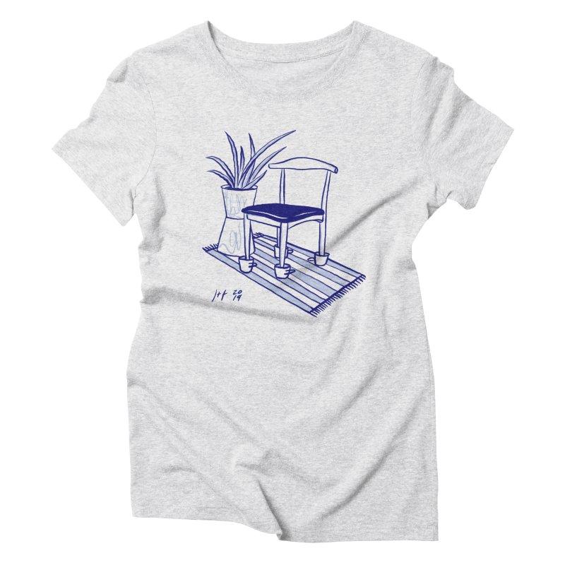 Artist Series 02: Jeremy+Farrah Women's Triblend T-Shirt by Design Museum of Chicago