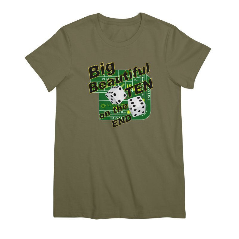 Big Ten Women's Premium T-Shirt by DesignsbyAnvilJames's Artist Shop