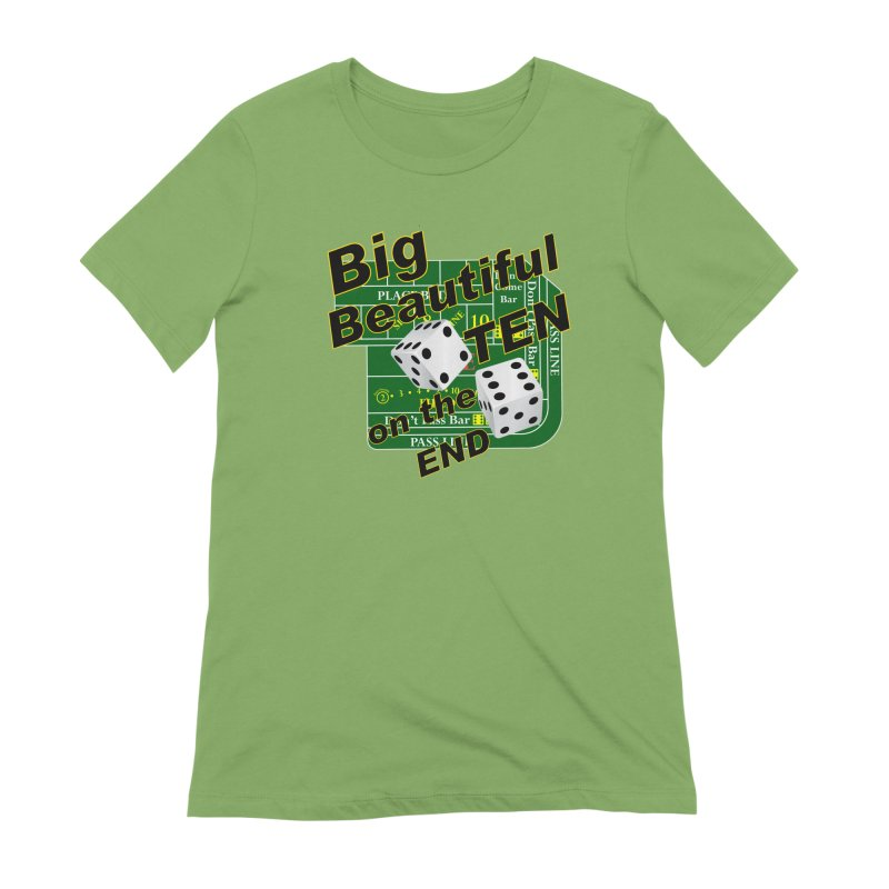 Big Ten Women's Extra Soft T-Shirt by DesignsbyAnvilJames's Artist Shop