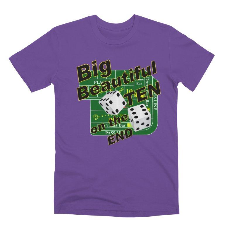 Big Ten Men's Premium T-Shirt by DesignsbyAnvilJames's Artist Shop