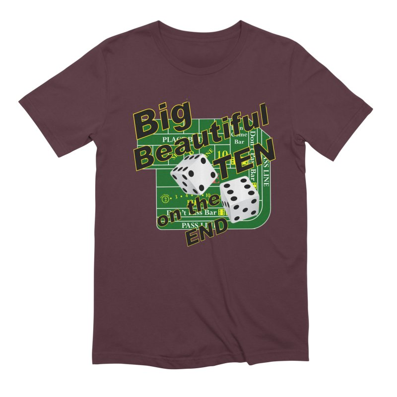 Big Ten Men's Extra Soft T-Shirt by DesignsbyAnvilJames's Artist Shop