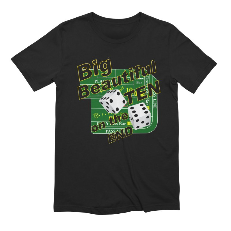 Big Ten Men's Extra Soft T-Shirt by DesignsbyAnvilJames's Artist Shop