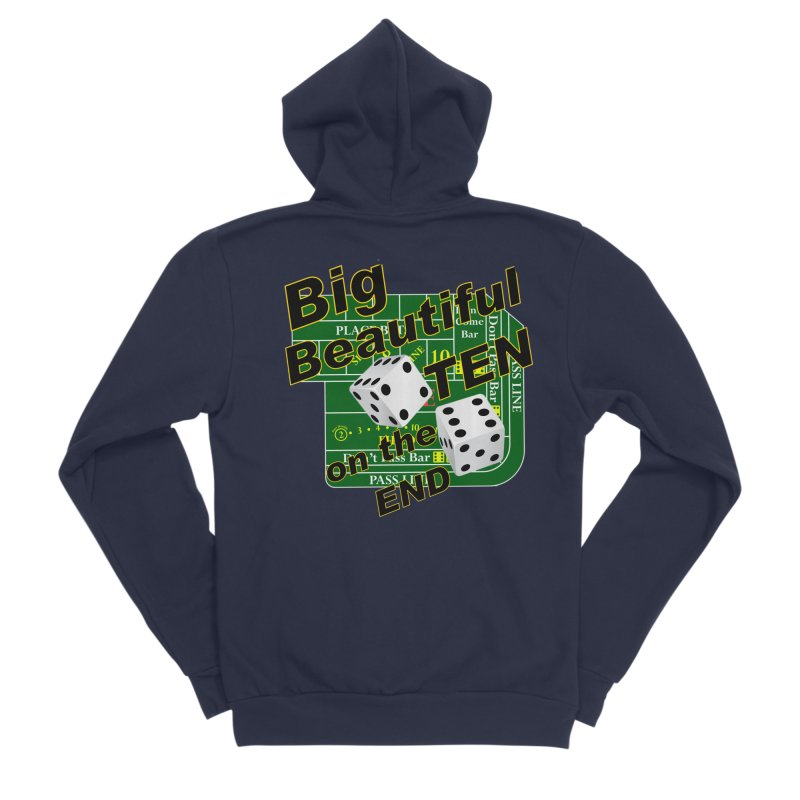 Big Ten Men's Sponge Fleece Zip-Up Hoody by DesignsbyAnvilJames's Artist Shop