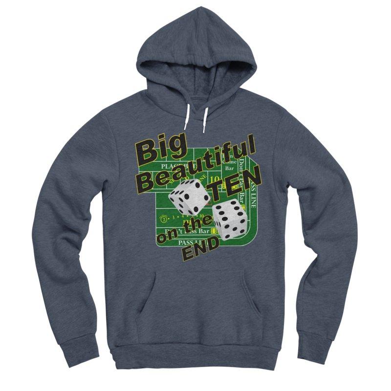 Big Ten Women's Sponge Fleece Pullover Hoody by DesignsbyAnvilJames's Artist Shop