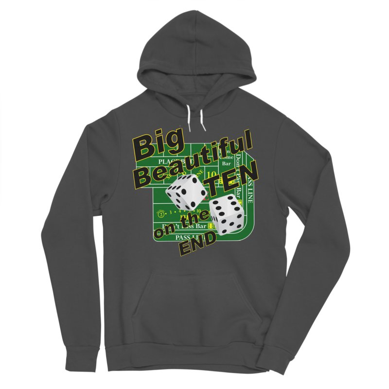 Big Ten Men's Sponge Fleece Pullover Hoody by DesignsbyAnvilJames's Artist Shop