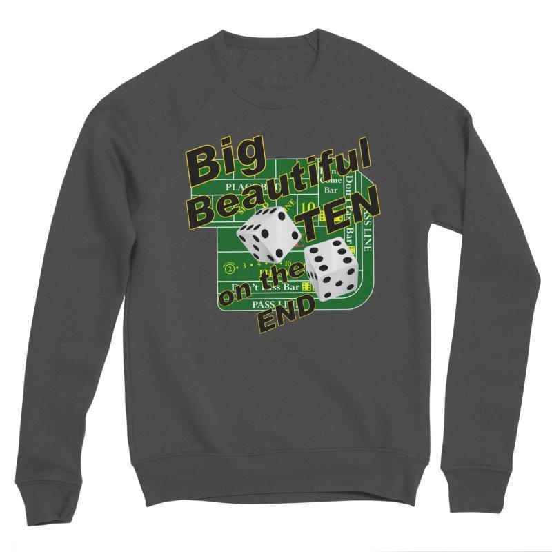 Big Ten Men's Sponge Fleece Sweatshirt by DesignsbyAnvilJames's Artist Shop