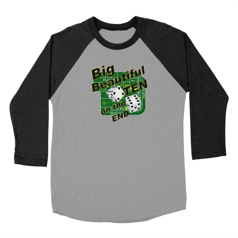 Big Ten Women's Baseball Triblend Longsleeve T-Shirt by DesignsbyAnvilJames's Artist Shop