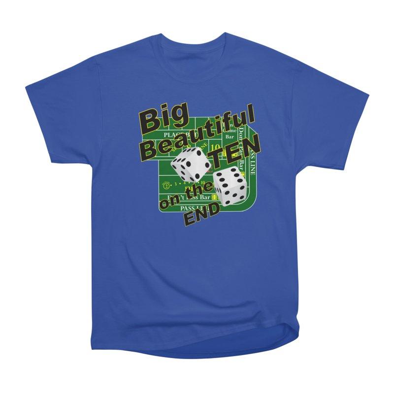 Big Ten Women's Heavyweight Unisex T-Shirt by DesignsbyAnvilJames's Artist Shop