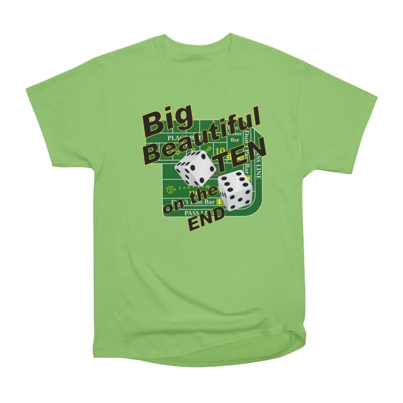 Big Ten Men's Heavyweight T-Shirt by DesignsbyAnvilJames's Artist Shop