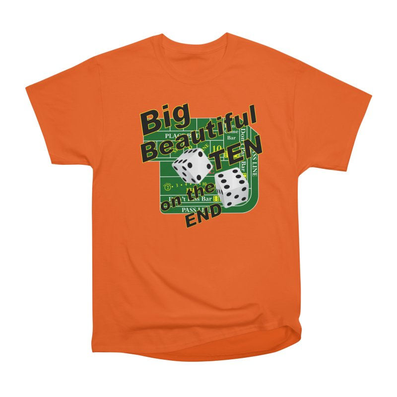 Big Ten Women's Heavyweight Unisex T-Shirt by DesignsbyAnvilJames's Artist Shop