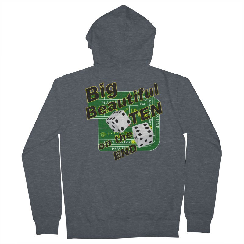 Big Ten Women's French Terry Zip-Up Hoody by DesignsbyAnvilJames's Artist Shop