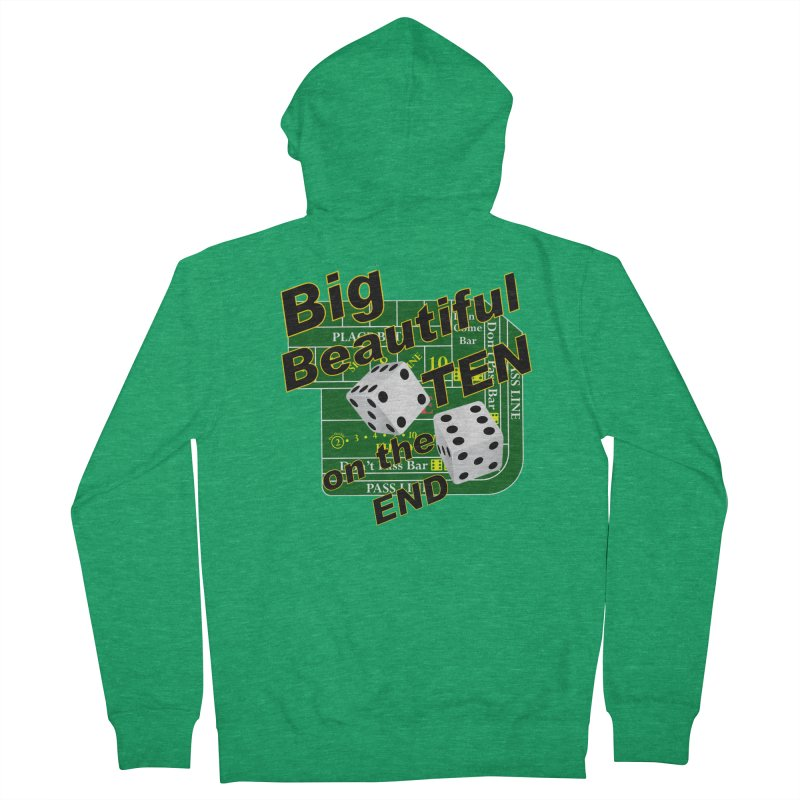 Big Ten Men's Zip-Up Hoody by DesignsbyAnvilJames's Artist Shop