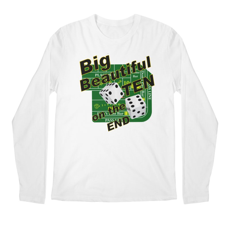 Big Ten Men's Regular Longsleeve T-Shirt by DesignsbyAnvilJames's Artist Shop