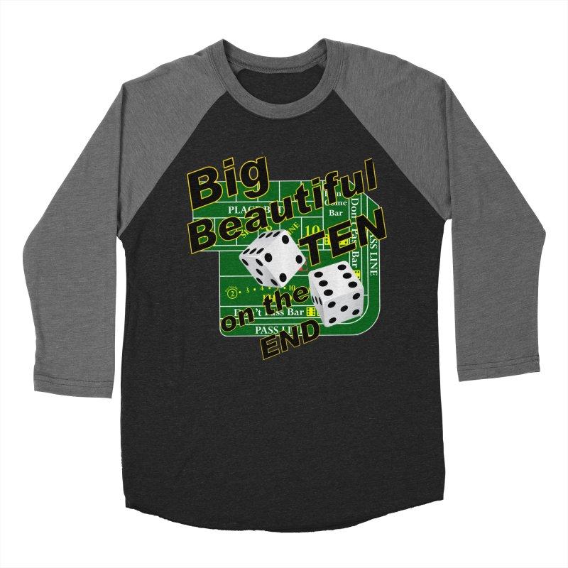 Big Ten Men's Baseball Triblend Longsleeve T-Shirt by DesignsbyAnvilJames's Artist Shop