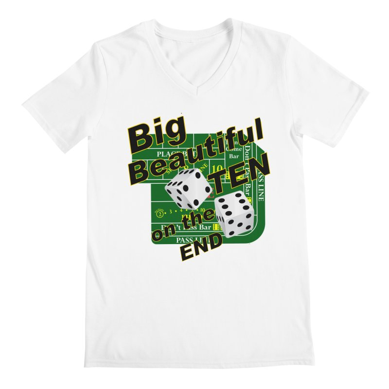 Big Ten Men's V-Neck by DesignsbyAnvilJames's Artist Shop