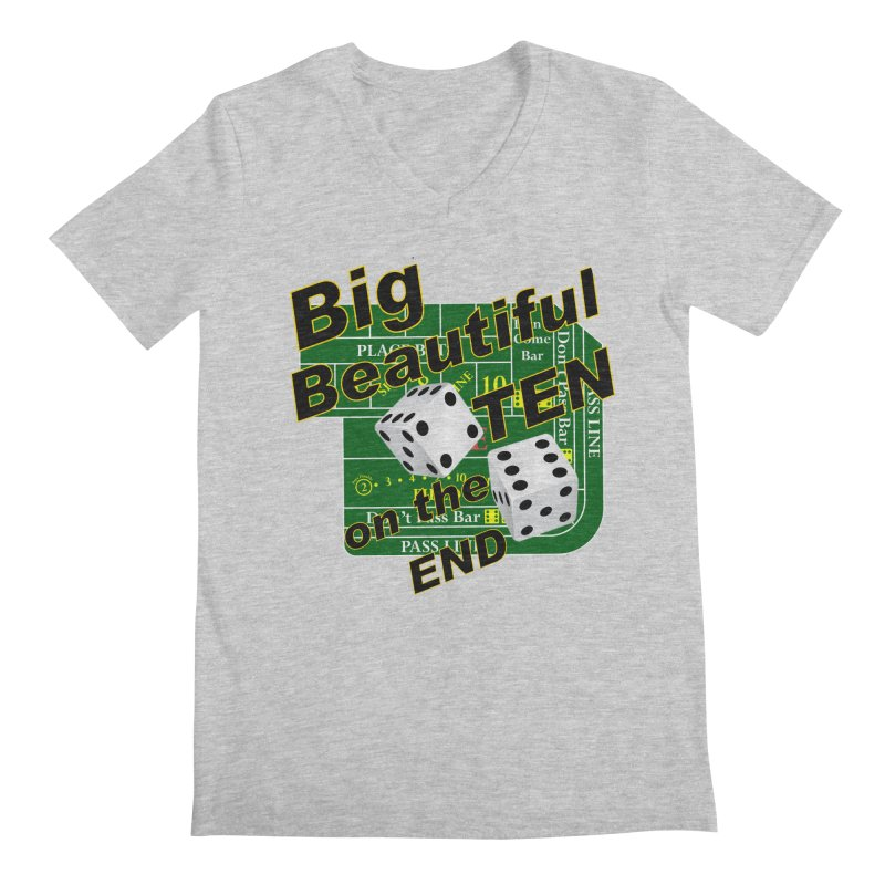 Big Ten Men's Regular V-Neck by DesignsbyAnvilJames's Artist Shop