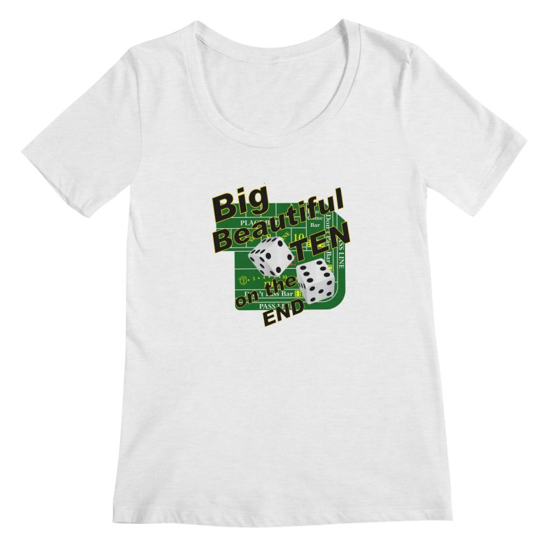 Big Ten Women's Scoop Neck by DesignsbyAnvilJames's Artist Shop