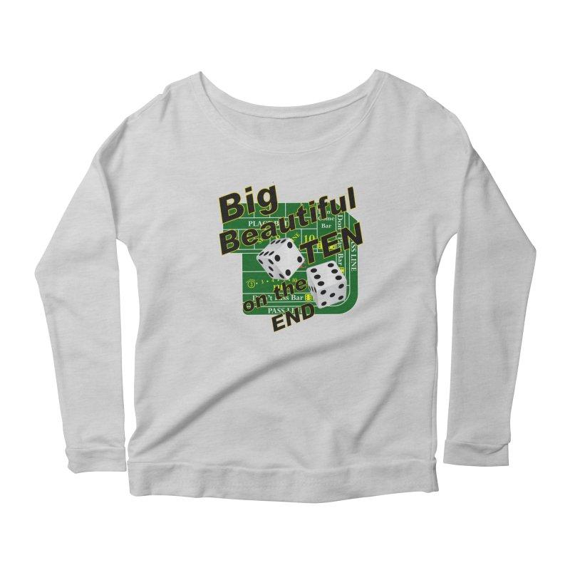 Big Ten Women's Scoop Neck Longsleeve T-Shirt by DesignsbyAnvilJames's Artist Shop