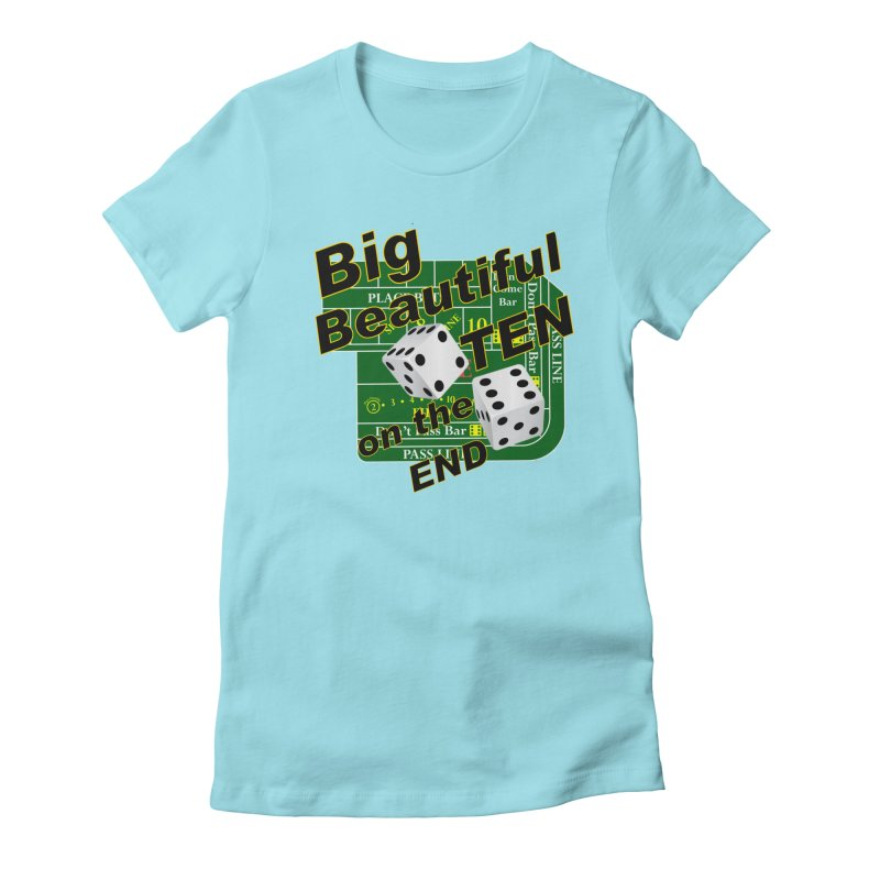 Big Ten Women's Fitted T-Shirt by DesignsbyAnvilJames's Artist Shop