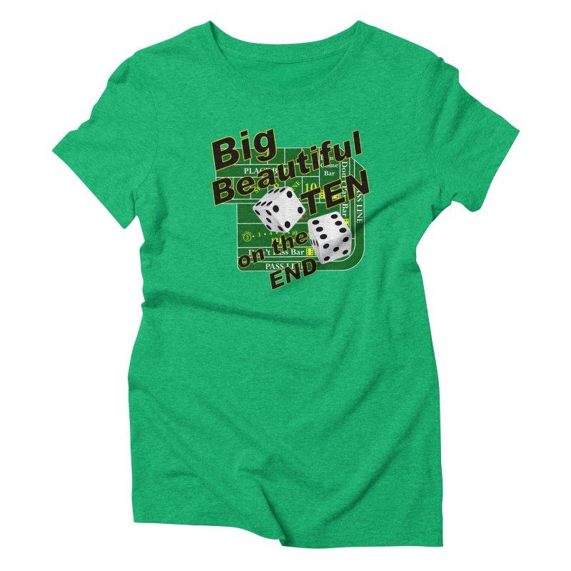 Big Ten Women's Triblend T-Shirt by DesignsbyAnvilJames's Artist Shop