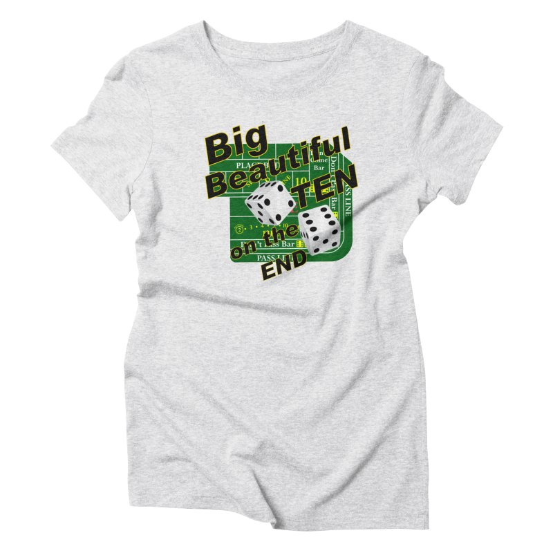 Big Ten Women's Triblend T-Shirt by DesignsbyAnvilJames's Artist Shop