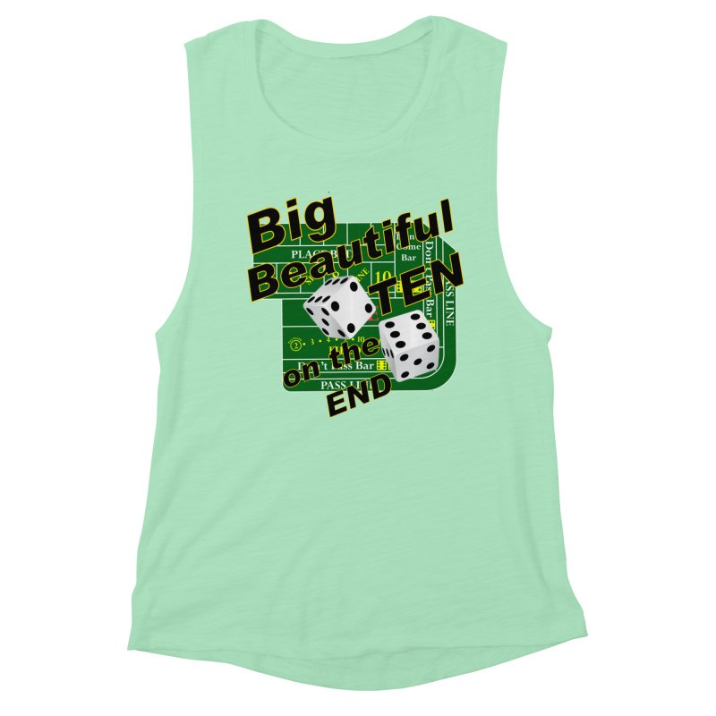 Big Ten Women's Muscle Tank by DesignsbyAnvilJames's Artist Shop