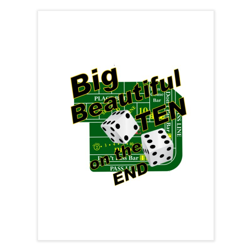 Big Ten Home Fine Art Print by DesignsbyAnvilJames's Artist Shop